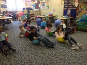 We Love Reading in our Chairs!