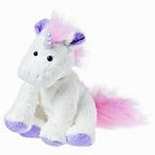 A stuffed unicorn