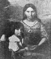 Pocahontas and her son