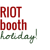 Happy Holidays from Salty Not Sweet and RIOTbooth!