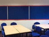 Classrooms with no displays to engage students' interests