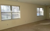 Oversize windows in living overlook huge back yard