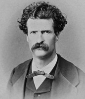 Twain as a young man