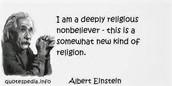 Einstein's Beleifs