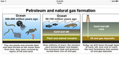 How is  natural gas is formed