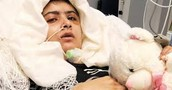 Malala recovering from attack