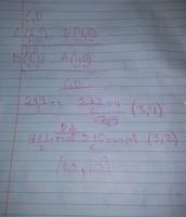 Points C,D & D,A