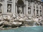 Fontana di Trevi or Trevi Fountain