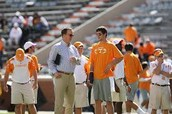 Peyton visits The University of Tennessee.
