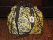 Cinch Sac Thermal Tote - Leopard Floral