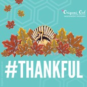 There is no better time to say thank you...