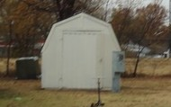 A storage Shed on every unit!