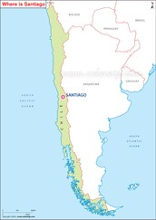 ¿Comó es la ciudad Santiago Chile?