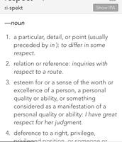 Dictionary Aspect