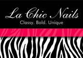 La Chic nails is a nail studio based in Rochdale.