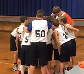 6th grade team against Lake Village