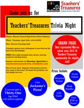 Teachers' Treasures Trivia!