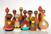 Wooden Dolls: