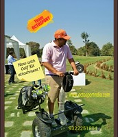 Enjoy Freego Segway at Golf Course with Golf kit