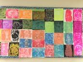 4th Grade Printmaking