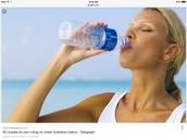 Drinking water .