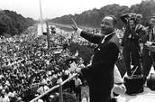 """I have a dream"" speech."