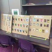 Peg Board Store: Stock and Sort