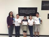 District Math Olympiad Winners