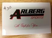 $30 Arlberg Gift Certificate