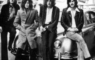 The members of Led Zeppelin: From left to right
