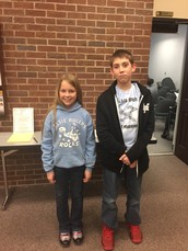 Elsie Rogers Students Present at P-H-M Board Meeting