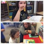 Happy Readers in Mrs. Jamison's Class