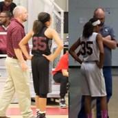 """Mariah Jones and Coach """"D"""""""