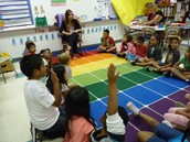 MS. SMITH TEACHING A CHARACTER EDUCATION LESSON TO 2ND GRADERS