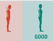 Posture is the way you hold your body when you walk or sit