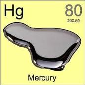 Mercury melts at room temprature