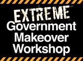 "LDC Tip: Host your very own Extreme Government Makeover workshop to remedy the ""kinked pipes"" and ""mold"" of your organization!"