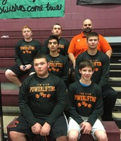 Powerlifting Team!  Go Tomcats!