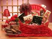 Sweetheart Basket - $50