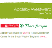 Appleby Westward is SPAR's Retail Distribution Centre