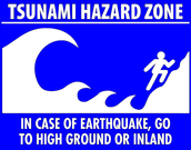 What should you do if there is a tsunami?