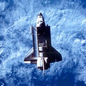 The Shuttle In Space