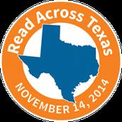 Read Across Texas Day: 11/14