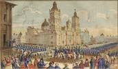 America Entering Mexico City