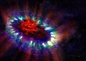 A Supernova in action