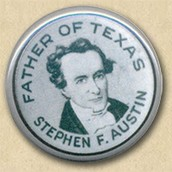 Father of Texas button