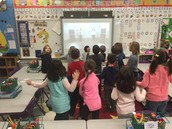 GoNoodle activities during indoor recess!