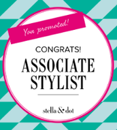 Look who promoted to ASSOCIATE Stylist!