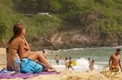 Beach day in Carrizalillo