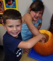 Exploring Pumpkins!
